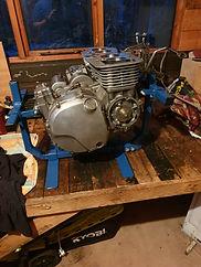 U J M 4 clyinder motor