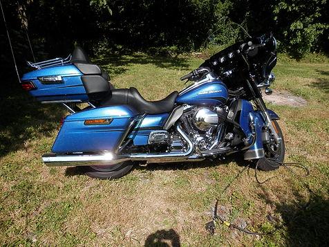 Harley Davidson Ultra Classic.