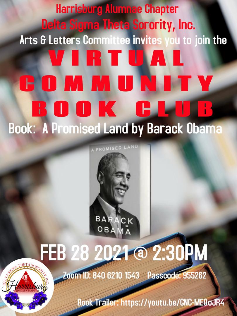Virtual Community Book Club