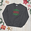 Thumbnail: Minimalist Season's Greetings Holiday Unisex Sweatshirt