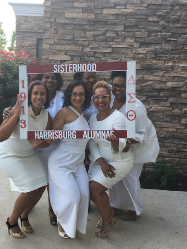 Harrisburg Alumnae Chapter White Out Meeting