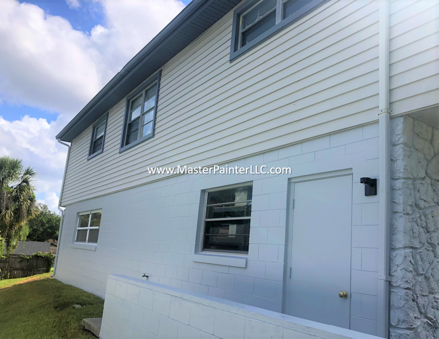 Entire home exterior repaint