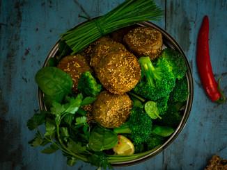 Falafel und Greens