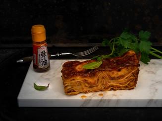 Lasagne-Linsenbolognese