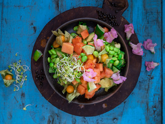 Papaya-Avocado-Bowl