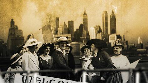 Die Pazifistin - Frauenliga in New York.