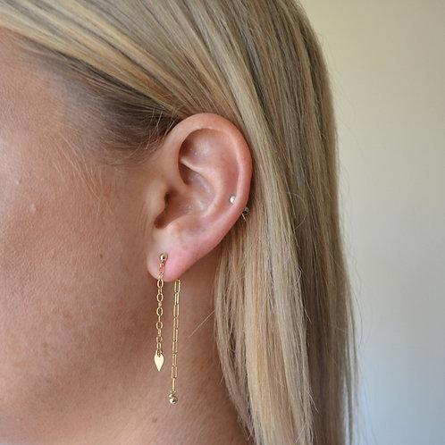 Arlo drop earrings