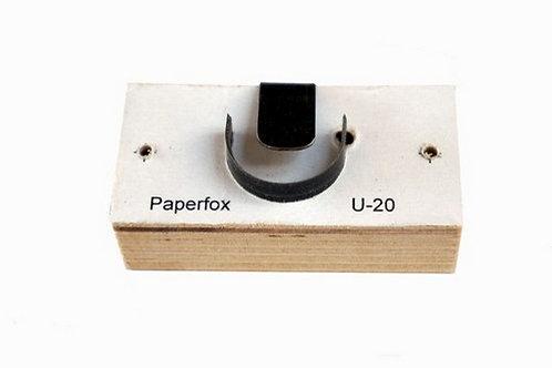Paperfox U-15, U-20, U-25 izciršanas veidne kalendāriem