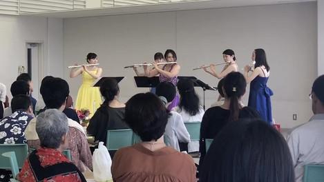 日大附属高校にて訪問演奏会