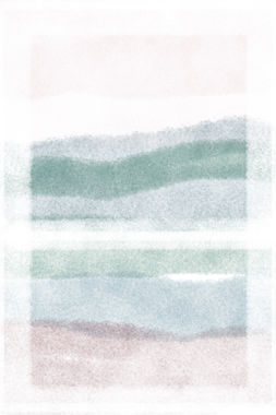 Window II   Watercolour Series   Minimal Art Print