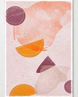 Picnic Leftovers I Minimal Art Print
