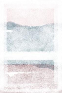 Window  | Watercolour Series | Minimal Art Print