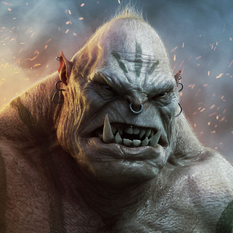 Og the Ogre and the Nephilim races