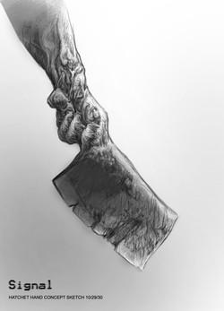 final hatchet hand sketch_10_29_14