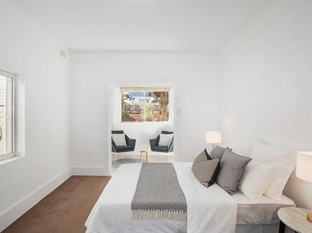 Bedroom | Tamarama Apartment Styling