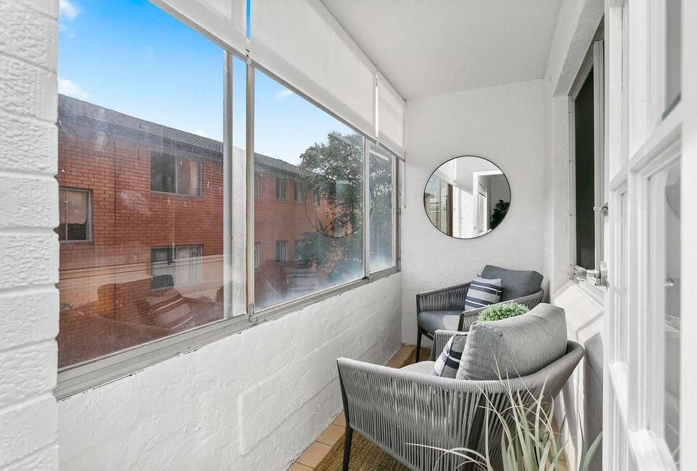 Balcony | Maroubra Apartment Styling