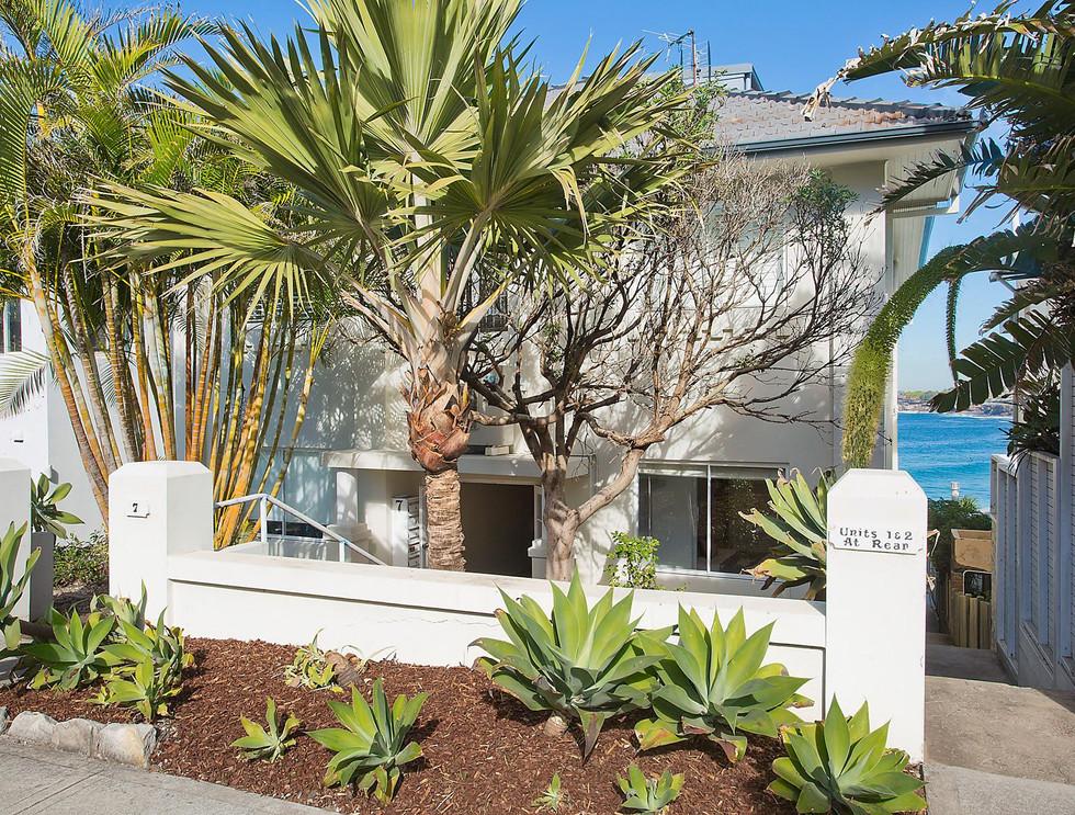 Exterior | Tamarama Apartment Styling