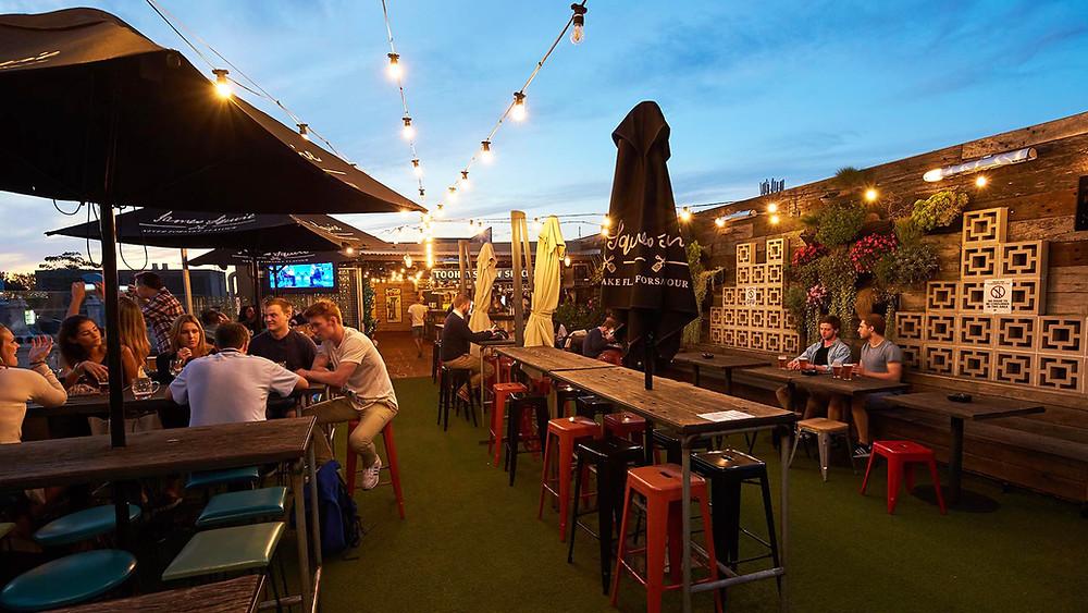 Websters Rooftop Bar