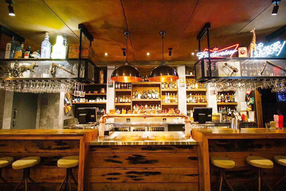 Websters ground floor bar
