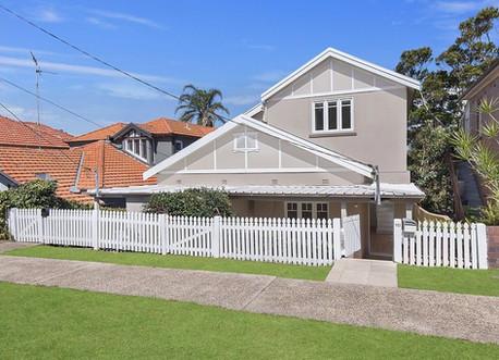 Bronte house - street view