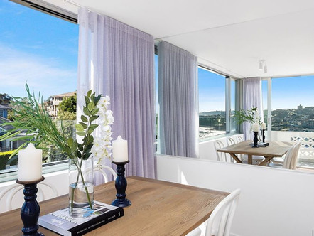 Bronte Penthouse - dining view