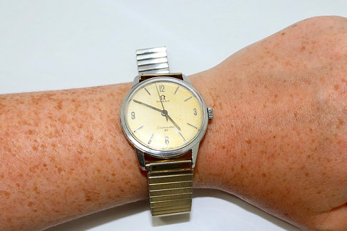 A Nice Vintage C1960's Gent's Omega Seamaster 30 Manual Wind Wristwatch 286 Cal