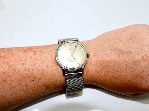 A Nice Vintage C1960's Gent's Omega Seamaster 600 Manual Wind Wristwatch 601 Cal