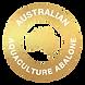 Australian Aquaculture Abalone Icon GOLD