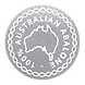 100% Australian Abalone Icon SILVER EFFE