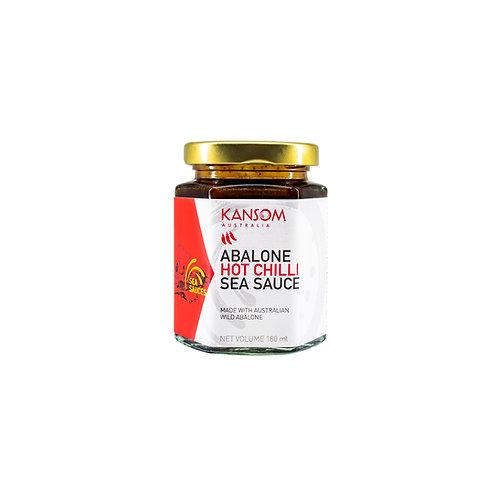 Abalone Hot Chilli Sea Sauce in 180ML Glass Jar
