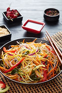 Vegetable Stir Fry with Abalone Mild Chi