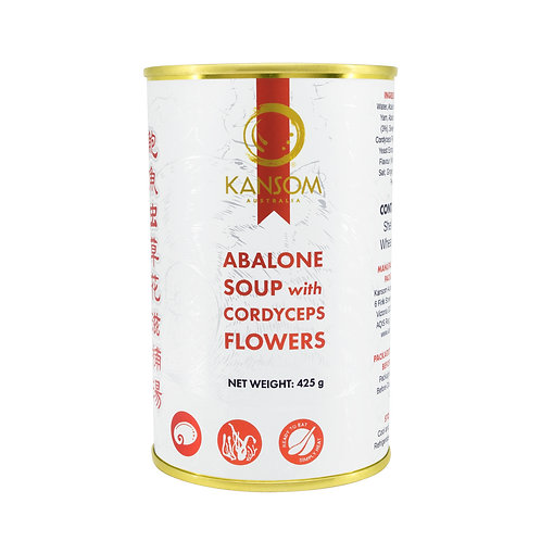 Abalone Soup with Cordyceps Flowers 425G Can