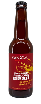 Abalone and Enoki Golden Ale 330mL Bottle