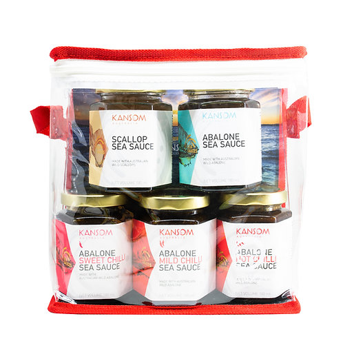 Sea Sauce Range in 180ML Glass Jar - 5 Pack