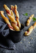 Prosciutto & Puff Pastry Twists with Aba
