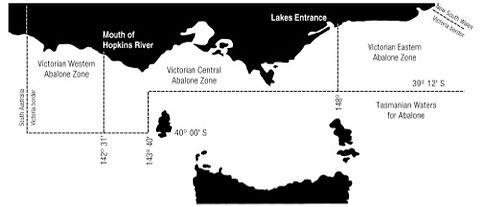 Abalone Zones Victoria