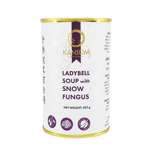Ladybell Soup with Snow Fungus 425G Can