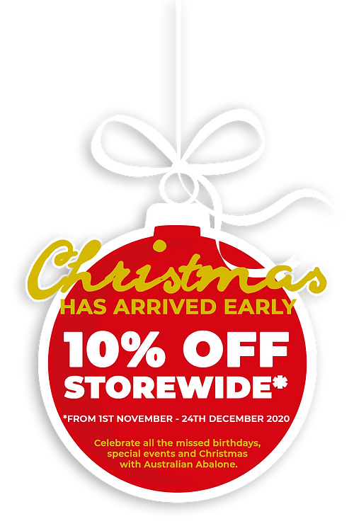 Christmas Promotion - 10% Off Storewide.