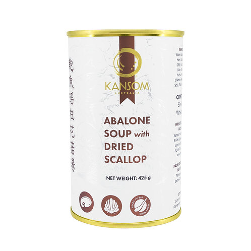 Abalone Soup with Dried Scallop 425G Can