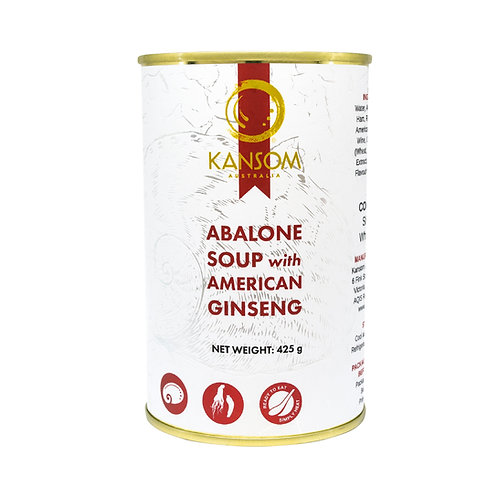 Abalone Soup with American Ginseng 425G Can