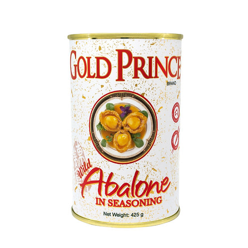 Gold Prince Abalone in Seasoning 425G Can