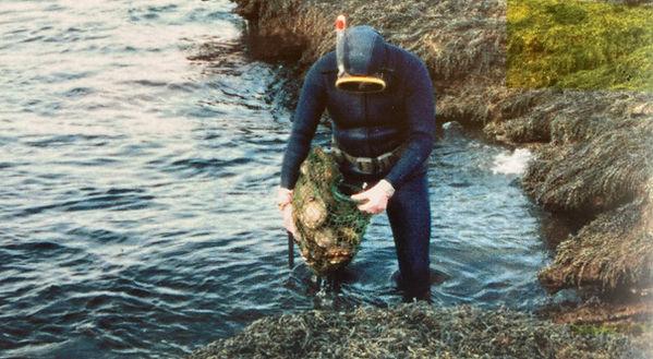 Australian Abalone Diving History