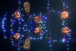 水棚萬聖節燈飾