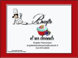 Brigitte et ses desserts