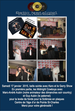 Spectacle Karo et Gerry show