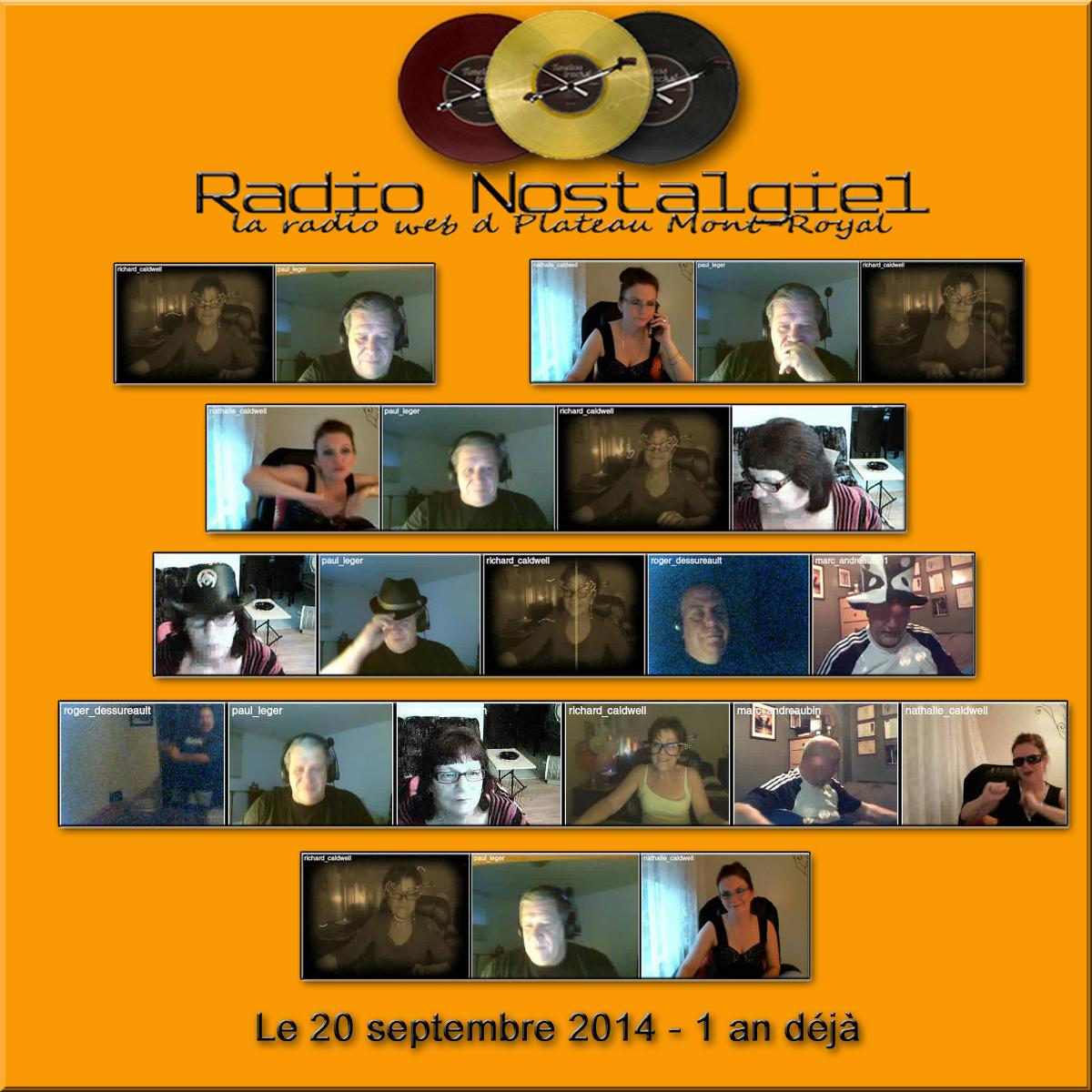 Anniversaire 1 an Radio Nostalgie1