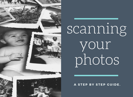 Scanning Your Photos