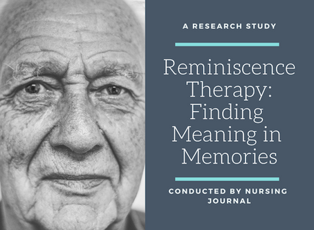 Reminiscence Therapy: Finding Meaning in Memories