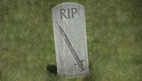 Gravestone Needle RIP