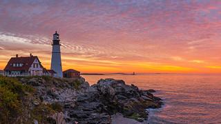 SO15 Lighthouse Sunset